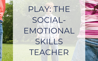 Play: The Social-Emotional Skills Teacher